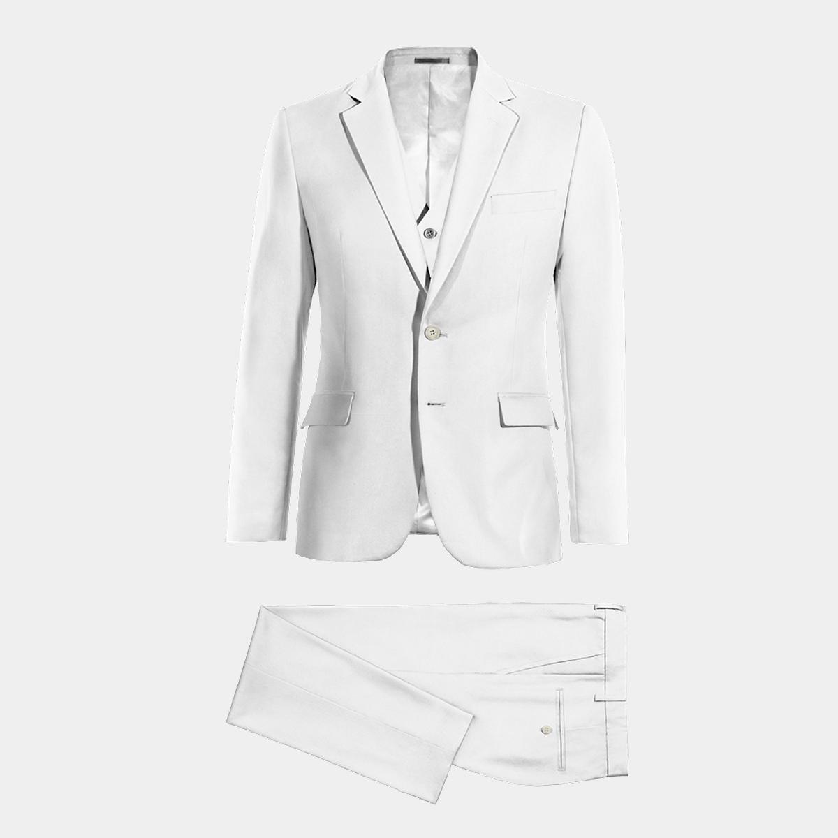Traje blanco 3 piezas de Lino 249€ - Ibiza  d94a17b5219