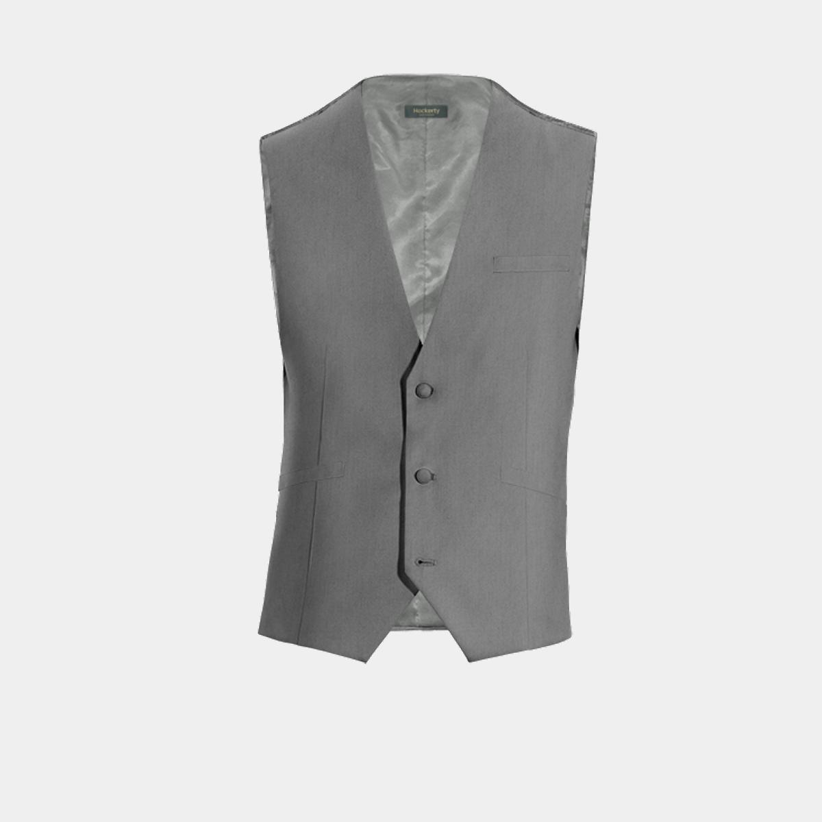 Chaleco de vestir gris 69€ - Wickford  e8ed382e1af