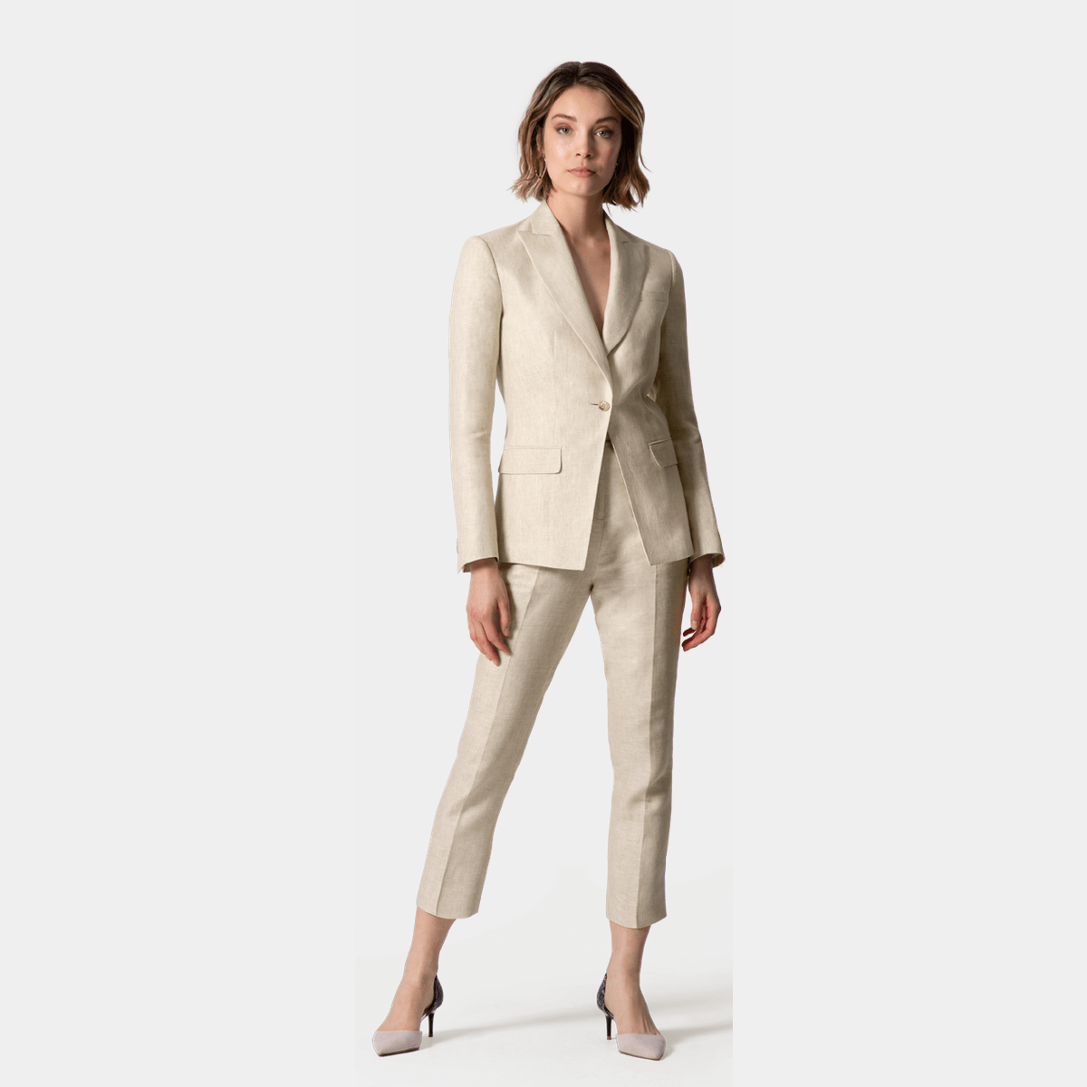 7ba4acfbbf18c Women's Linen Suits | Made to Measure - Sumissura